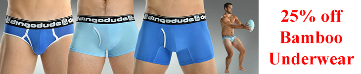Dingodue ofer DEFCOM members 25% off Bamboo Underwear