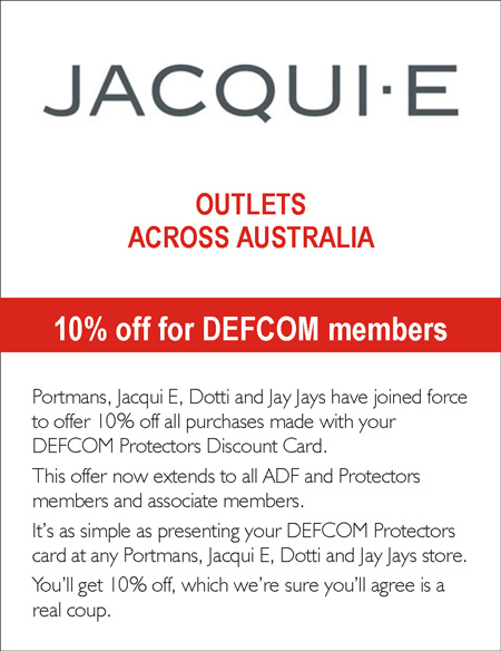 Jacqui e for 10% off all purchases