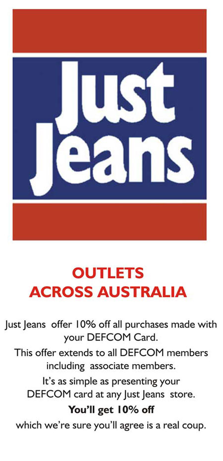 10%  OFF* at Just Jeans