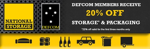 20% off Storage* & Packaging for DEFCOM members