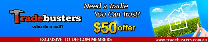 Tradebuster have joined DEFCOM offering member discounts