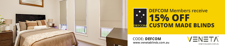Veneta Blinds offer DEFCOM members extra 15% off