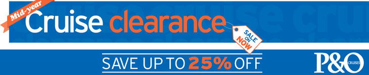 Mid-Year Cruise Clearance from P&O Cruises