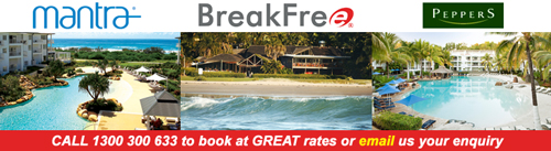 Book Mantra, BreakFree and Peppers properties at great rates